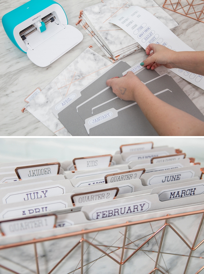 How to use the new Cricut Joy to easily organize your home!