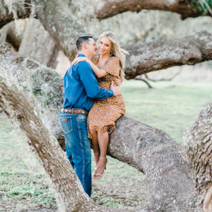 You don't want to miss this dreamy Texas engagement session!