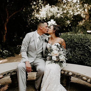 We are swooning over this dreamy DIY SoCal wedding at Orcutt Ranch!