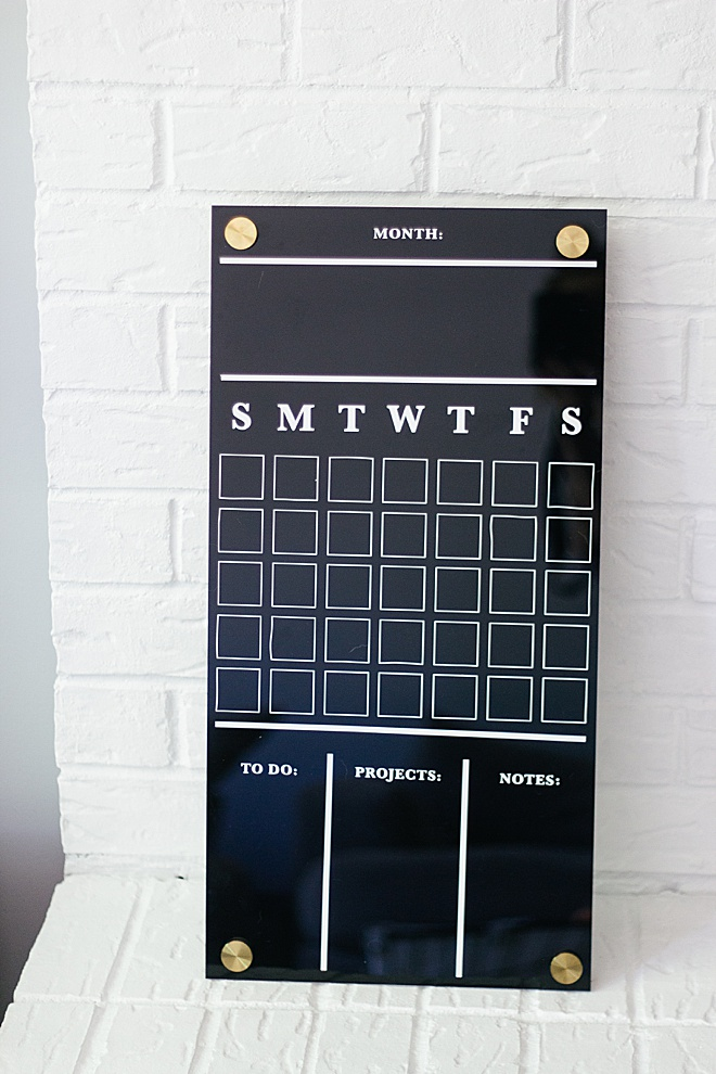 Obsessing over our new wall calendar make with @officialcricut