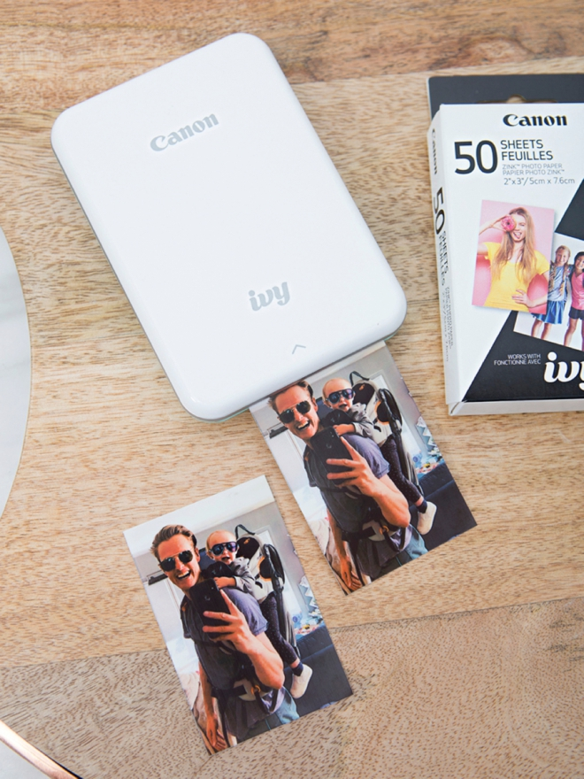 This DIY photo memory matching game is SUPER easy to make!