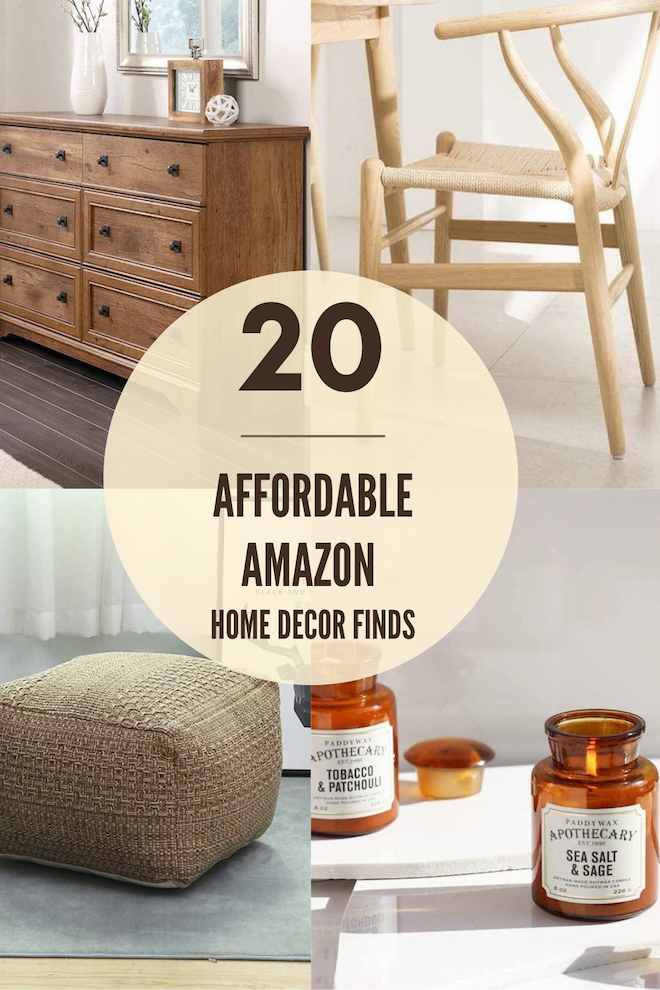 If you're decorating on a budget, you've GOT to see this. These Amazon home decor finds will blow your mind and save you so much money. Affordable home decor that arrives with Prime?! Yes please! #decor #house #home #inspo #shopping