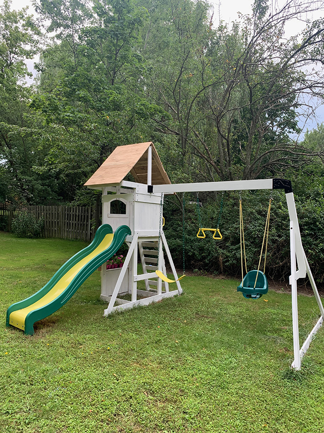 DIY basic play set update!