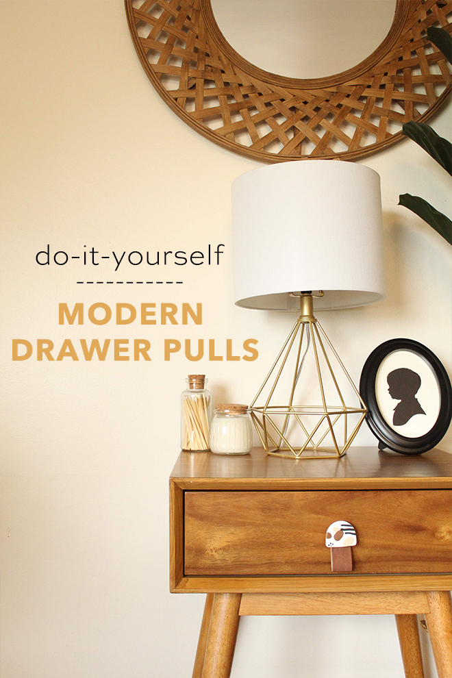 You do NOT want to miss these DIY Modern Drawer Pulls!