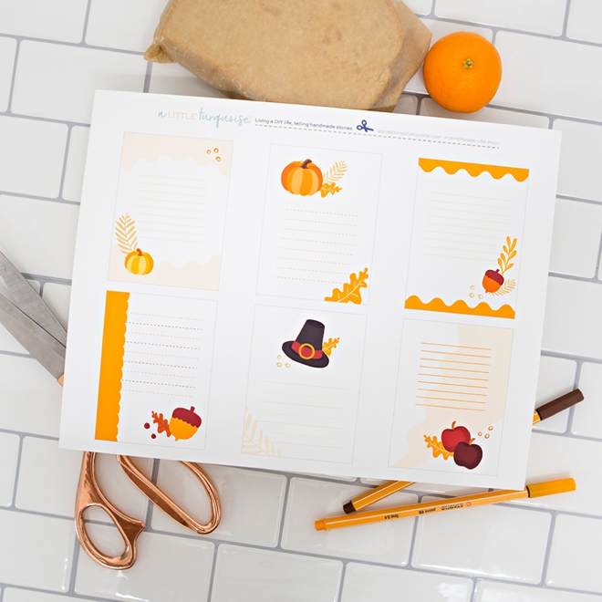 10 months of FREE printable lunch box notes!