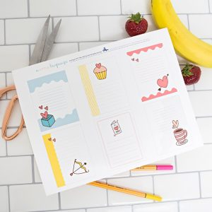 60 FREE printable lunch box notes with Canon!