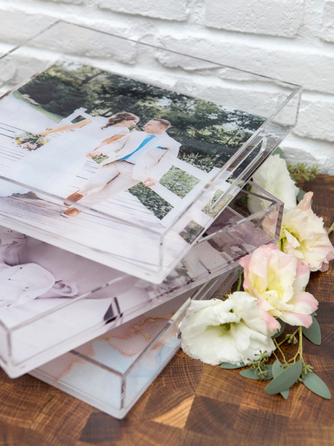 Use your Canon TS9521C to make these oversized photo trays!