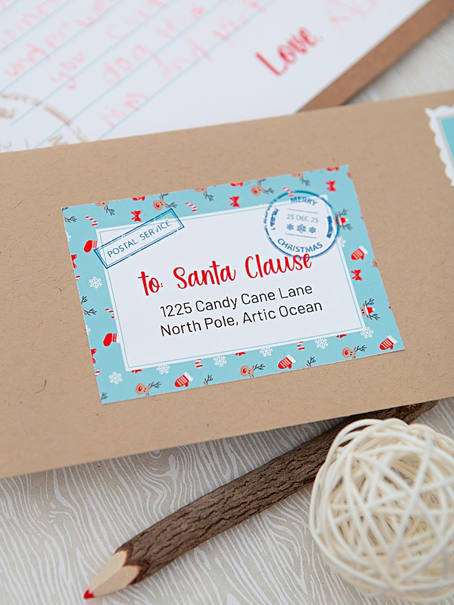 Print your own Santa Letter from home for FREE!