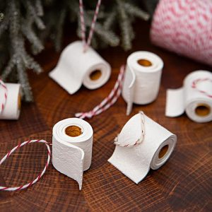 Toilet Paper Rolls made out of clay for 2020