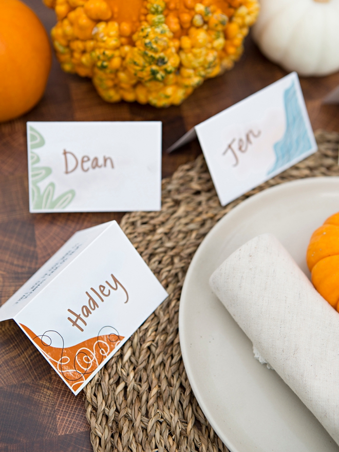 Print our modern Thanksgiving items with your Canon printer!