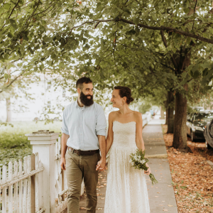 We're loving this dreamy COVID safe wedding day on the blog!