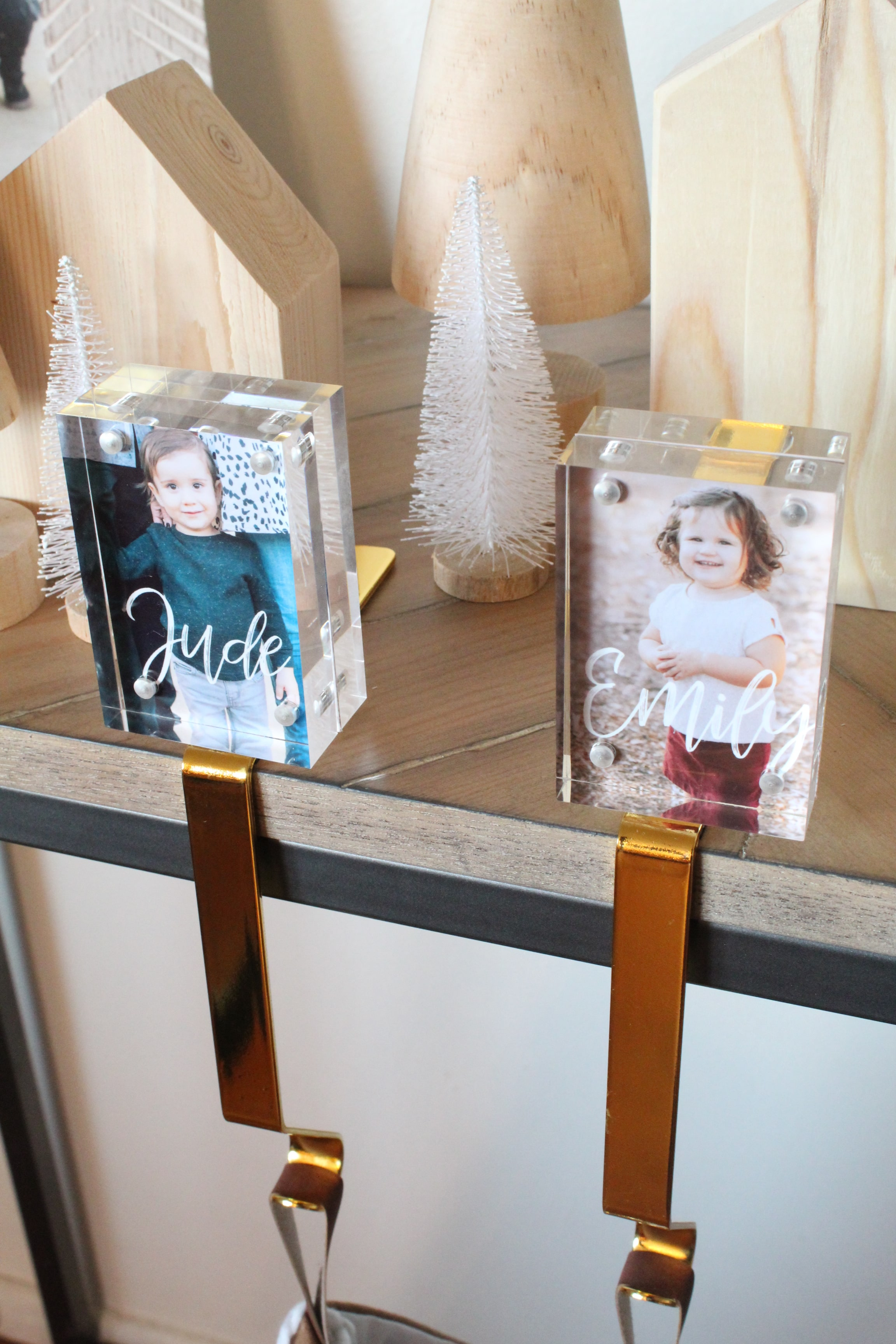 You don't want to miss these adorable DIY Framed Stocking Holders. You'll want to make one for every member of your family!