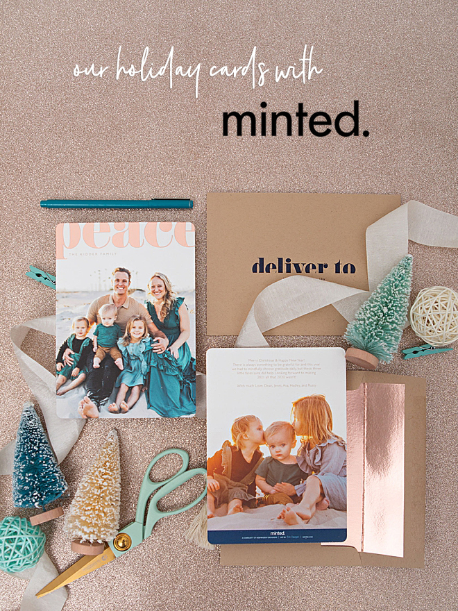 Our 2020 Christmas Photo Cards with Minted