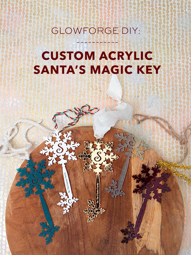 These handmade, custom Magic Santa Key's are the BEST!