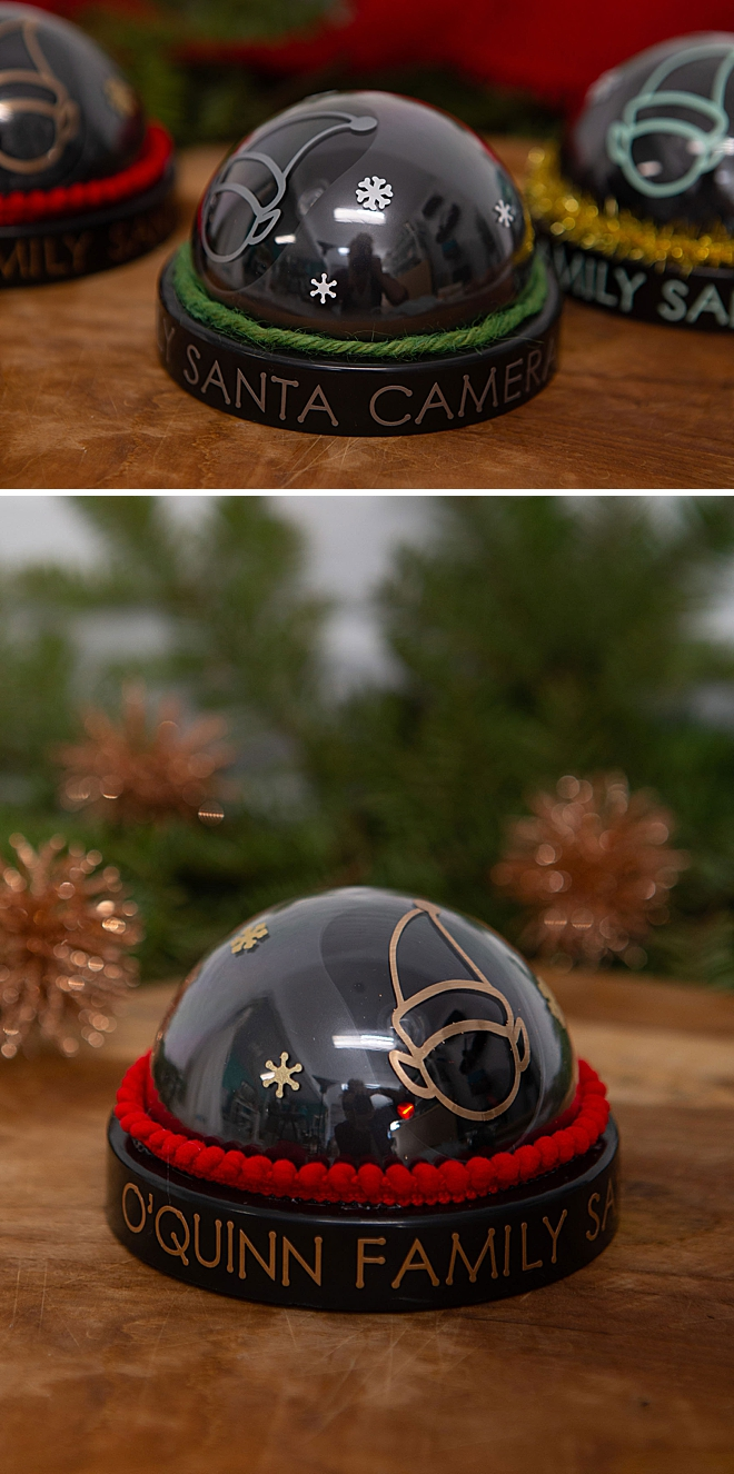 These Santa Camera's are super easy to make, and they're totally fake!