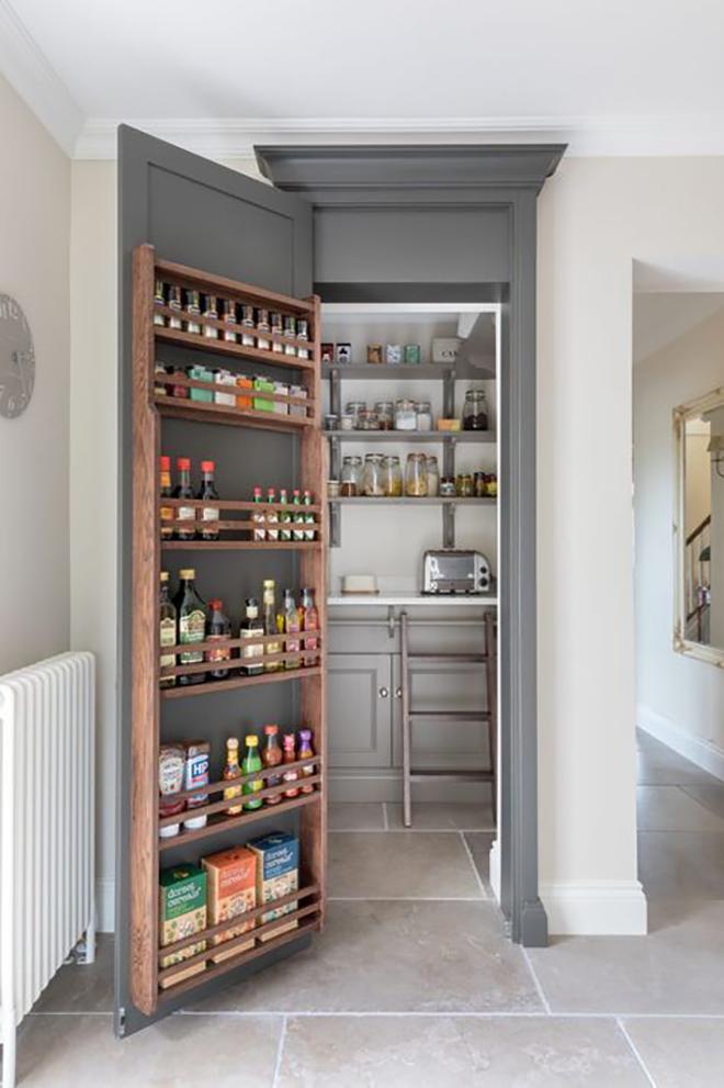 Pantry Door Storage - Something Turquoise