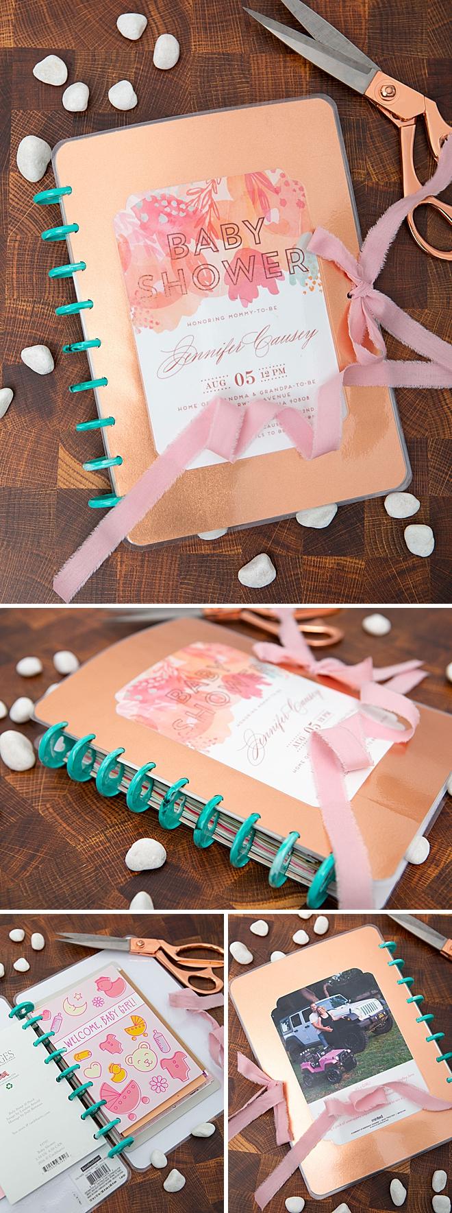How to make an adorable Christmas card keepsake book!