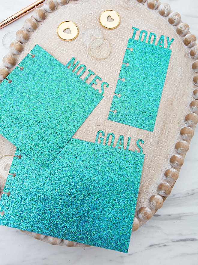 Cut your own Happy Planner page markers using your Cricut!