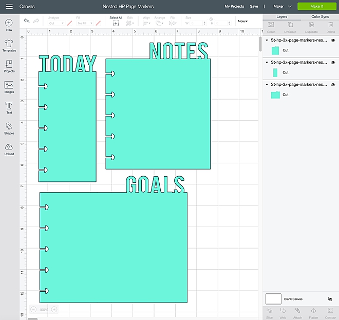 Make your own custom Happy Planner page markers!