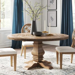 This is the best Pottery Barn dining table dupe I've ever seen! #copycat #lookalike #knockoff #inspo