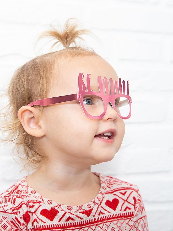 Custom paper glasses svg cut file for Cricut