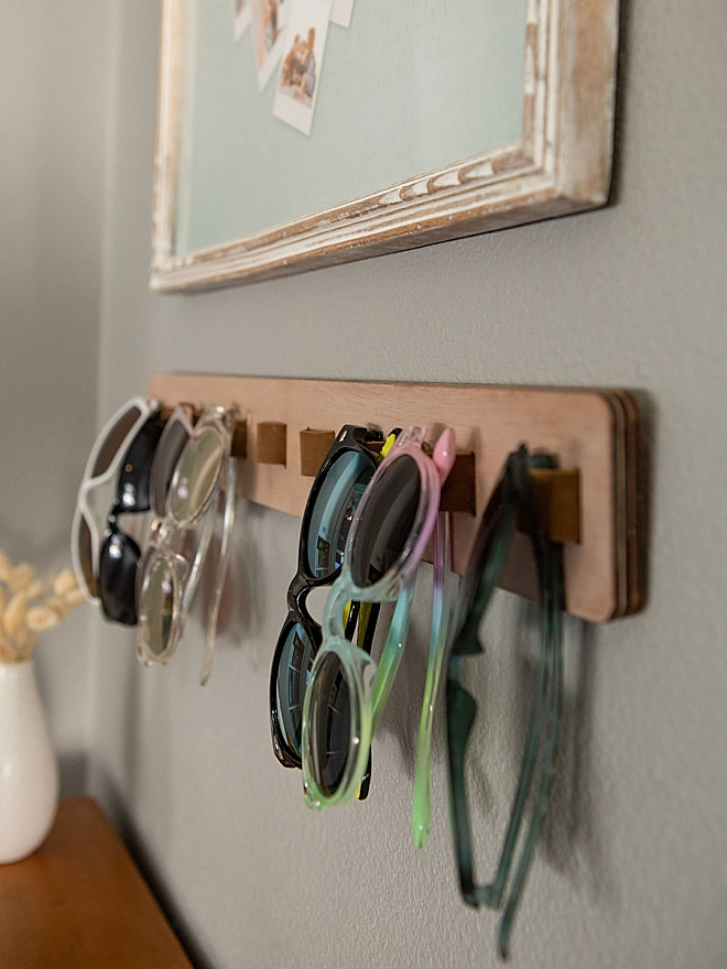 How to make an awesome wood and leather sunglasses holder!