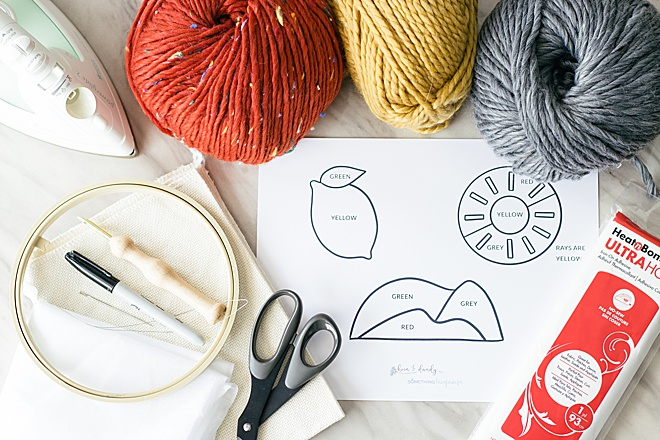 Have you tried punch needle yet? It's one of our new favorite crafts! We are making iron-on patches today on the blog.