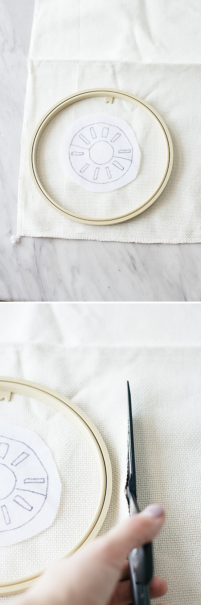 Obsessing over these punch needle patches. Catch our DIY tutorial with three full punch needle designs!