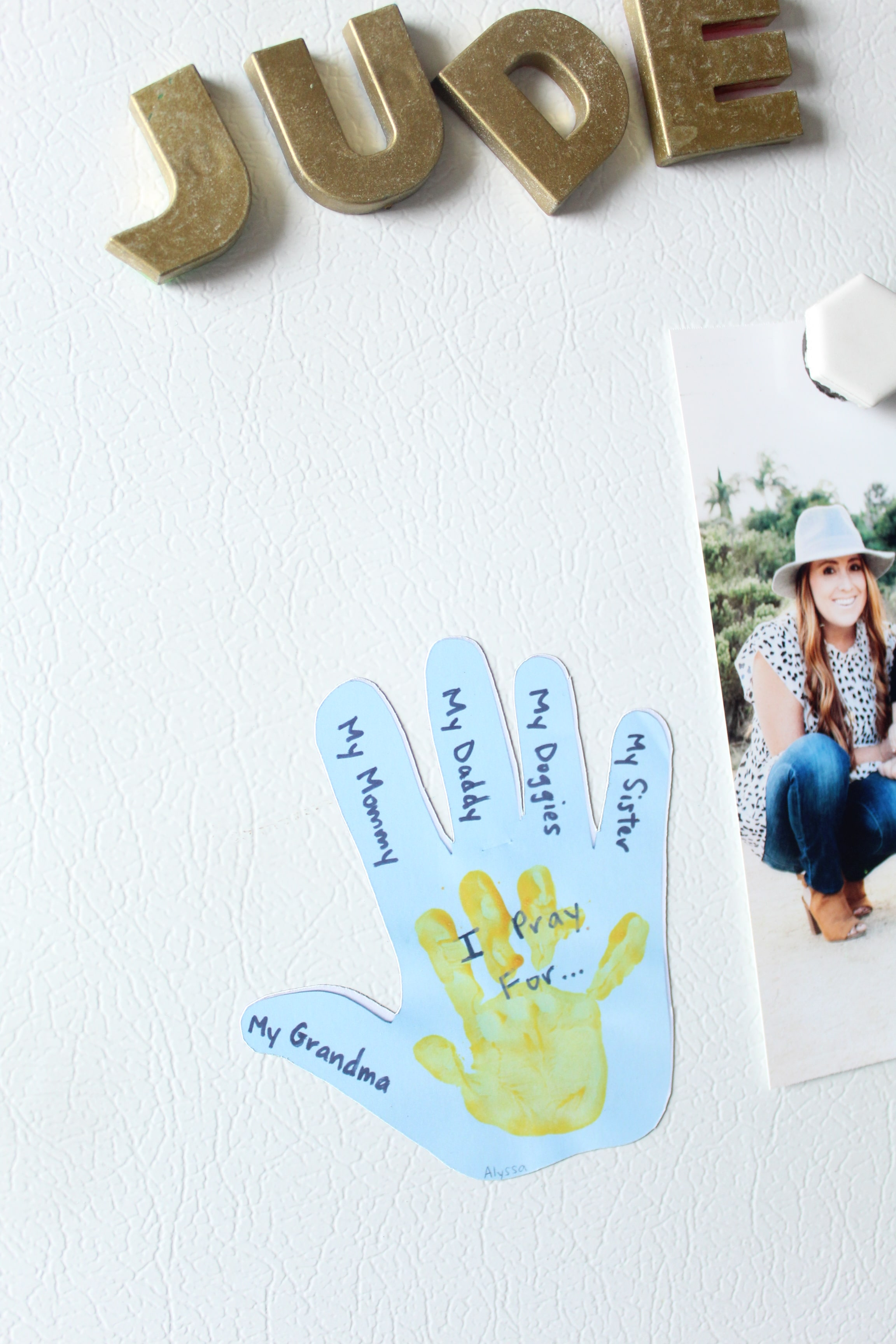 Turn your little one's artwork into magnets! You wont' want to miss this DIY!