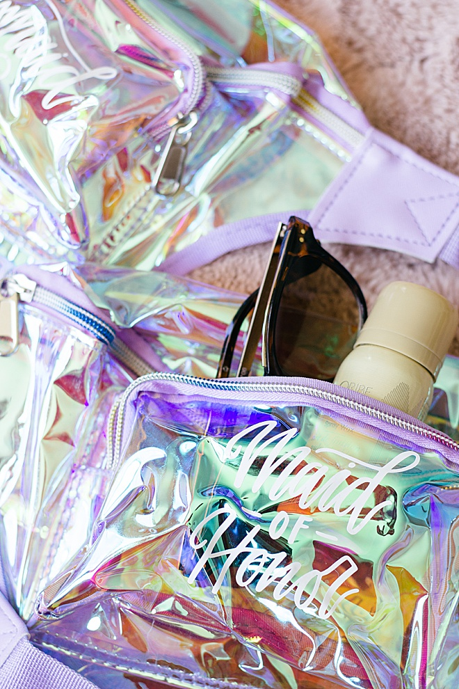 Ready for your bachelorette party? These DIY fanny packs are a must for your whole bride tribe!