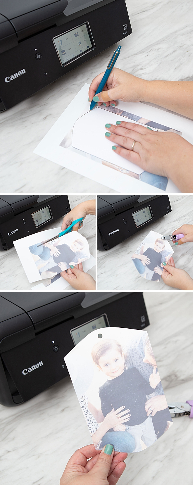 How to print Shrinky-Dink photos with Canon PIXMA!