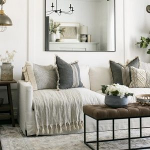 This sofa is a the Studio McGee Everligh sofa dupe and will save you hundreds of dollars! Love a good look for less.