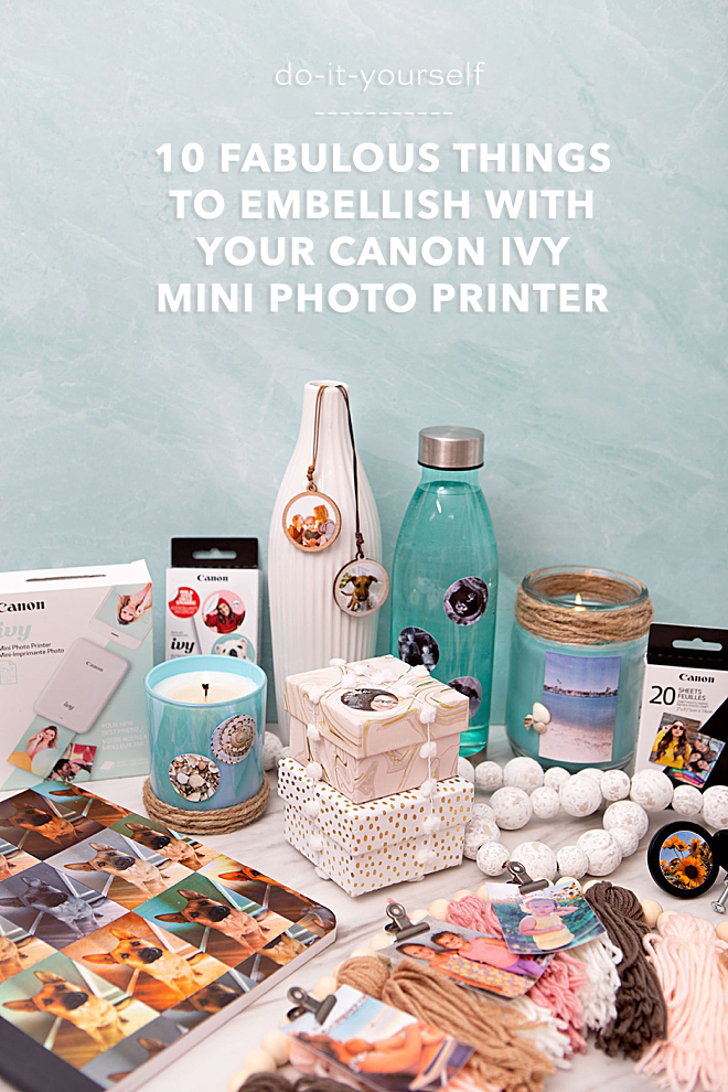 10 Awesome Things To Embellish With Your Canon IVY Photo Sticker Prints