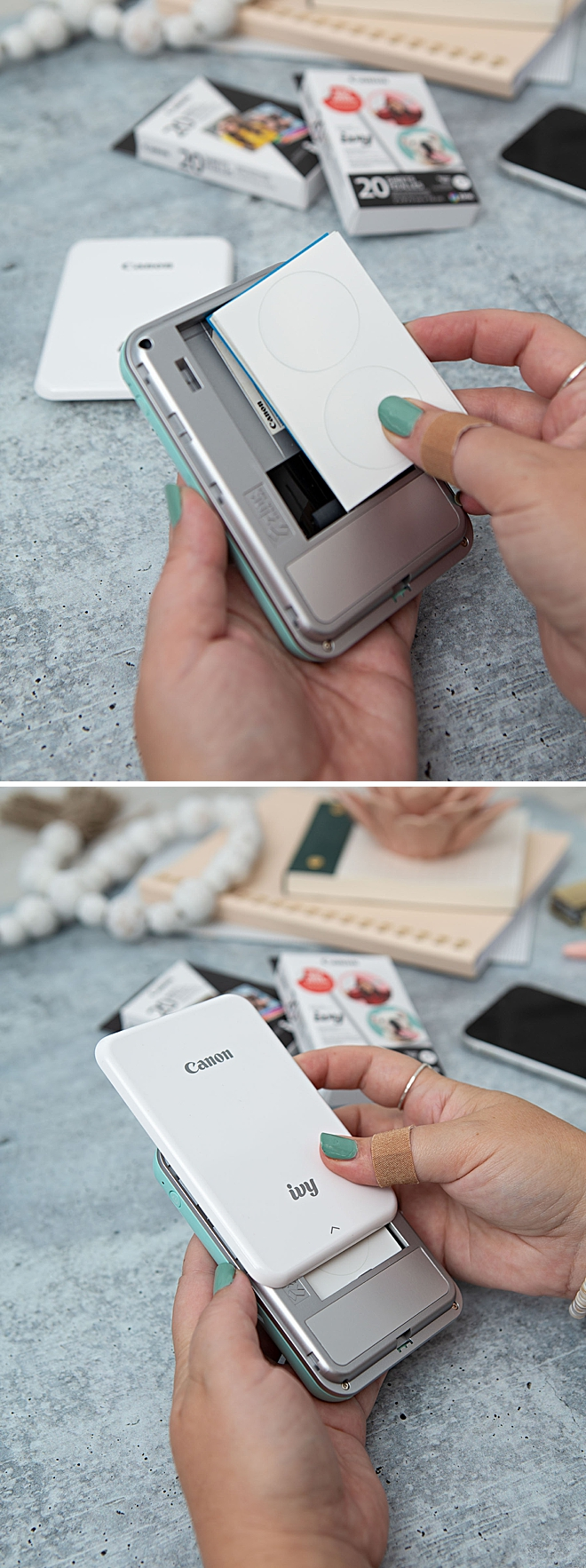 How to use the Canon IVY Mini Photo Printer, it's so easy!