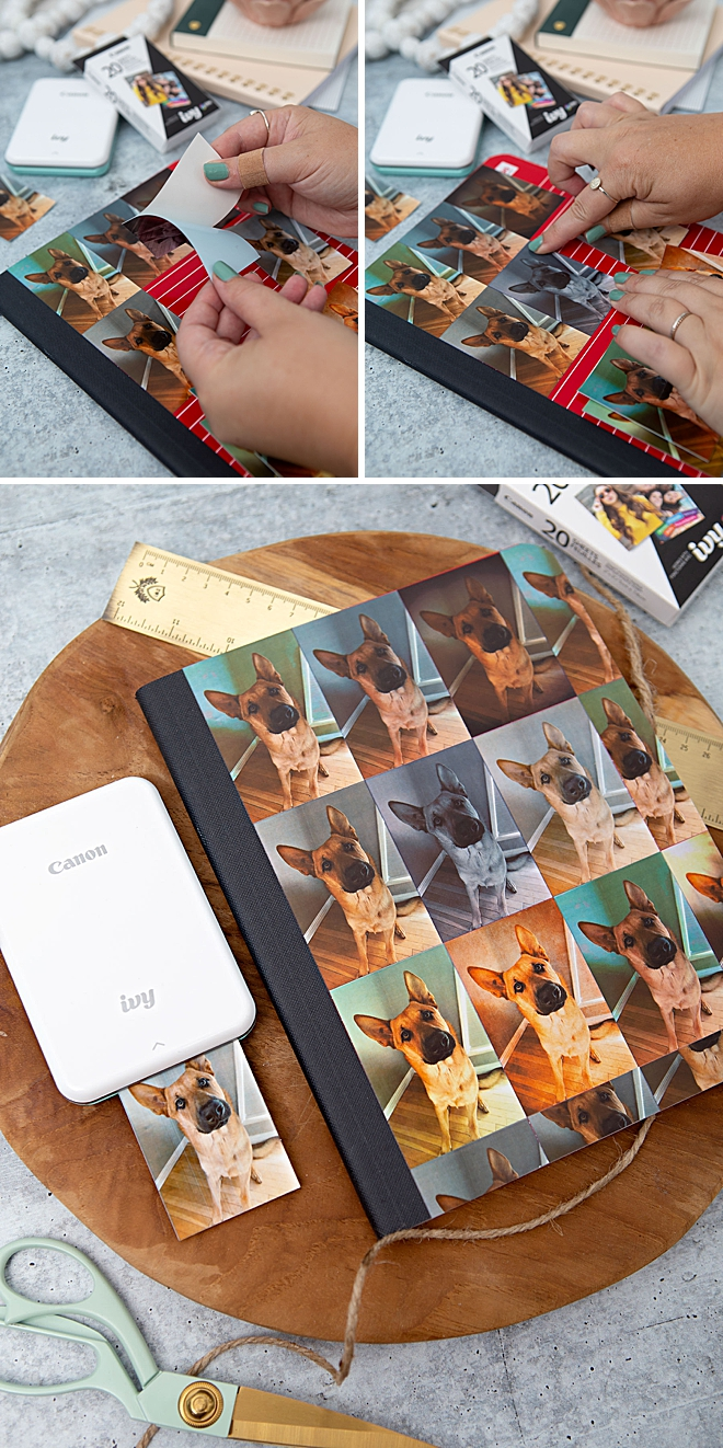 Use Your Canon IVY Stickers To Make An Awesome Photo Notebook