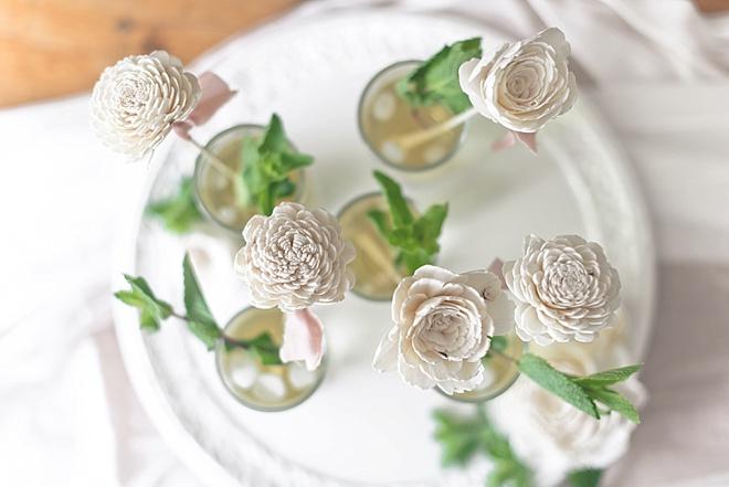 Sola Flower Drink Stirrers