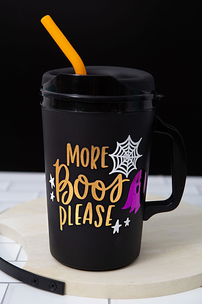 More Boos Please custom SVG file for sale for your Cricut
