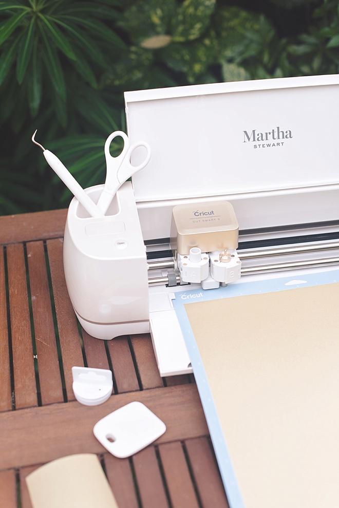 Make a Wedding Blanket Crate with Cricut machine