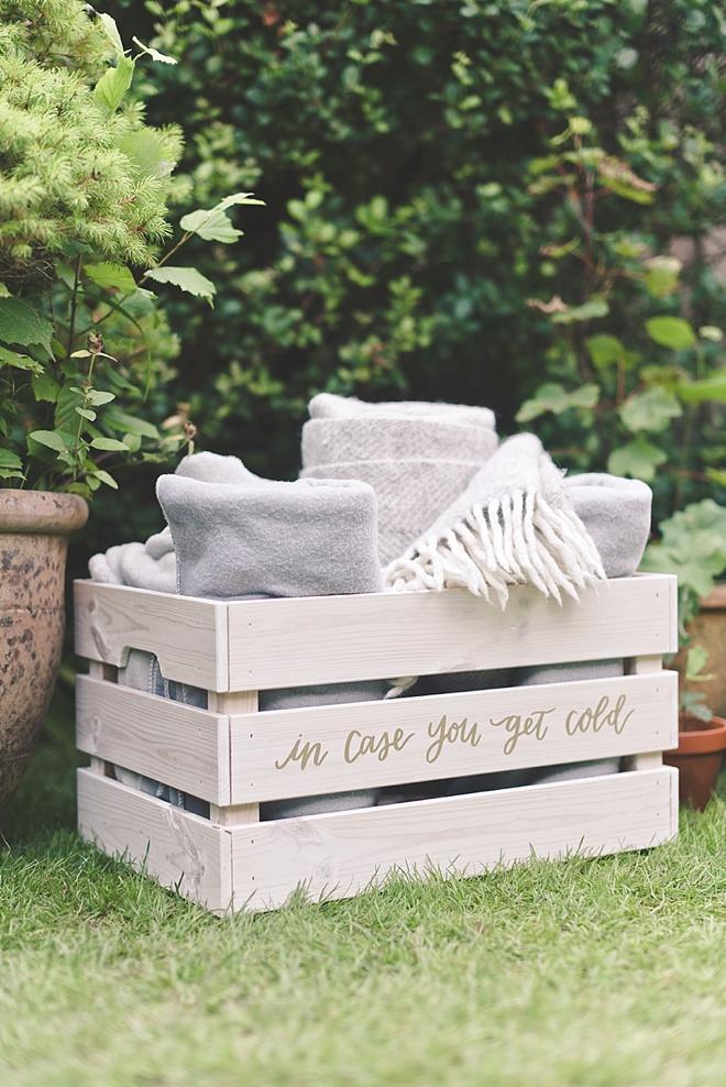 How to Make a Wedding Blanket Box
