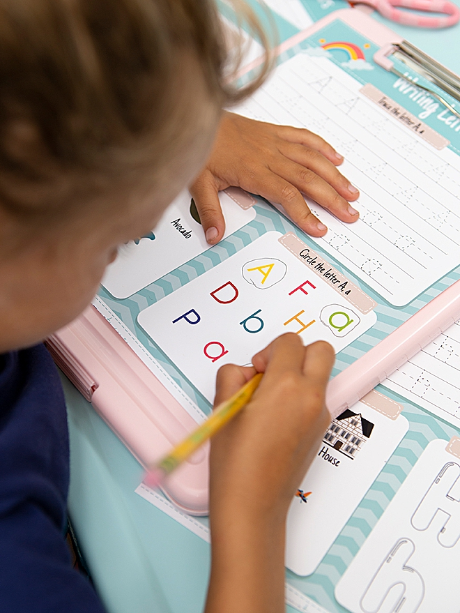 Print our kindergarten worksheets for FREE!