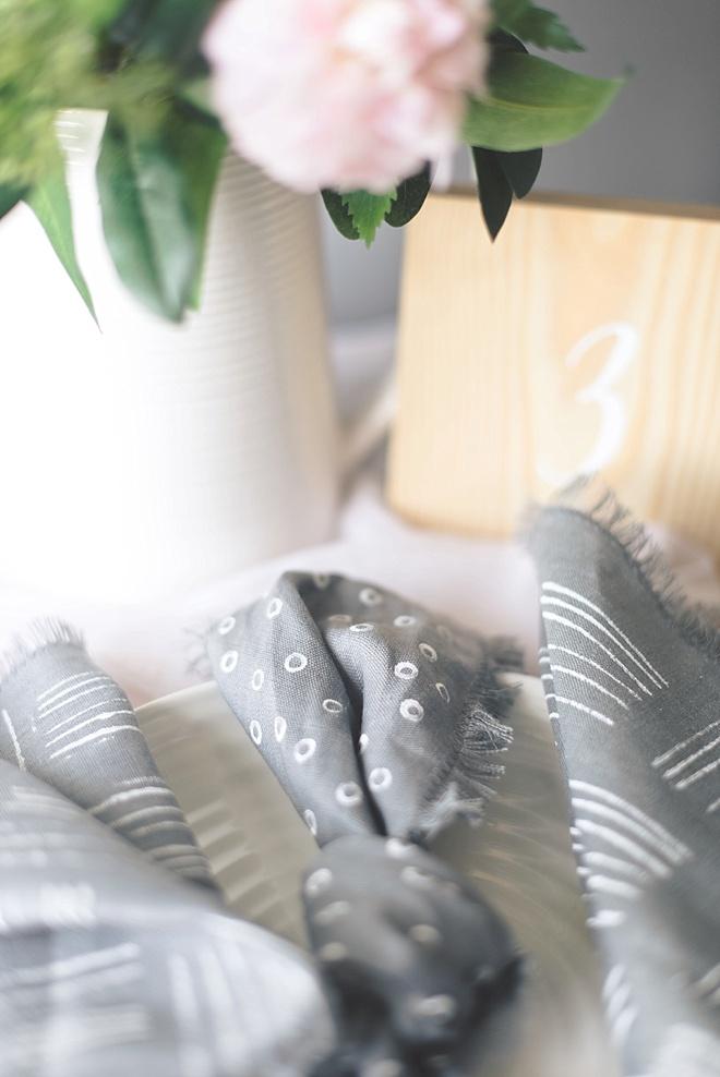 DIY wedding napkin ideas