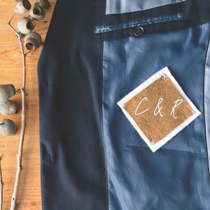 Easy Fall Wedding Tie Patch